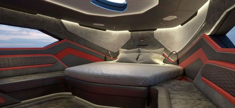 Cabin Conor McGregor $3.6m Lamborghini yacht | autohage.com