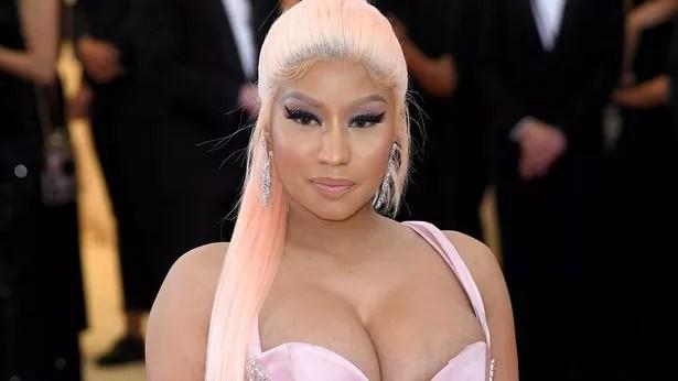 Nicki Minaj took aim at Prime Minister Boris Johnson and Chris Whitty