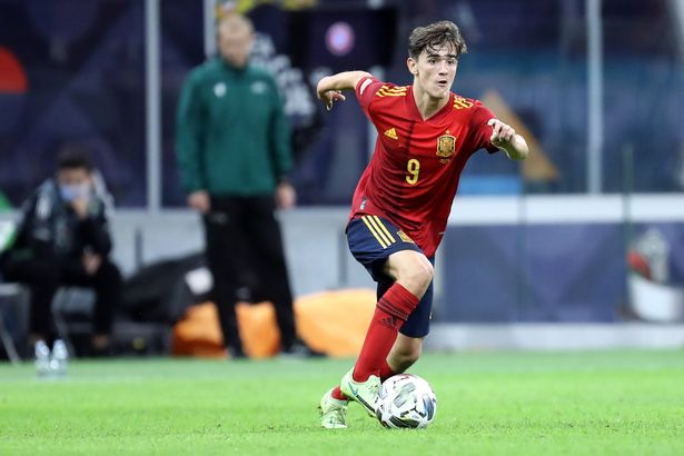 Gavi made his Spain debut at the age of 17, making him the nation's youngest-ever starter