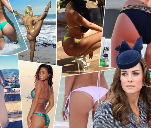 Kate Middletons Bottom Has Been Photographed But Who Has The Best Celebrity Bum