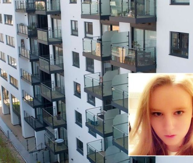 Victim Anastasia Tutik  From Russia Died After Falling From The Sixth Floor Balcony
