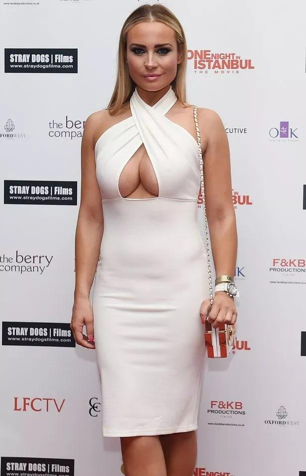 Model Amanda Harrington Of Desperate Scousewives In Court