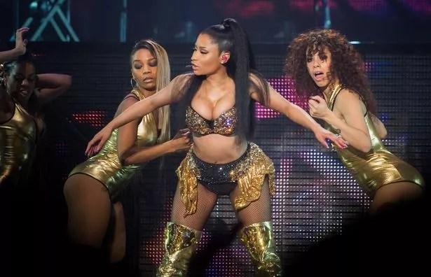 Nicki Minaj Wears Her Raunchiest Outfit Yet As She Takes
