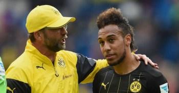 What Klopp said about coaching Aubameyang at Borussia Dortmund