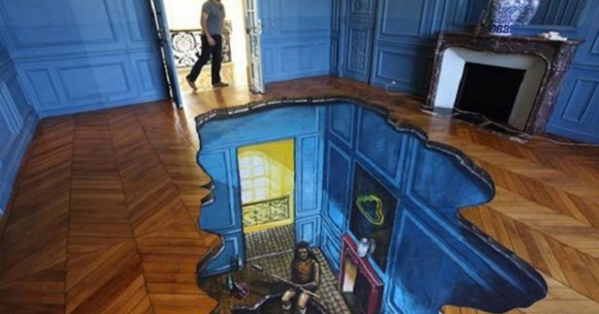 Incredible 3D Tiles Turn Kitchen And Bathroom Floors Into