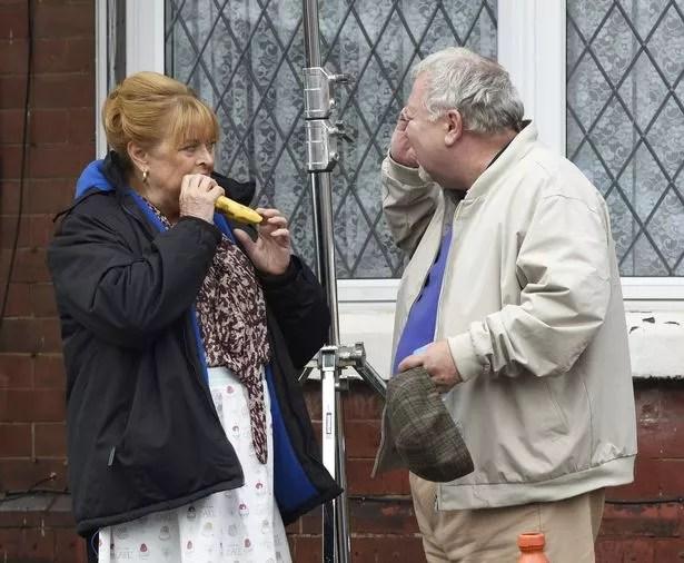 Gareth Hale And Lynda Baron Join David Jason In Filming