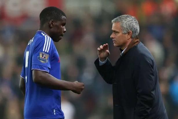 Image result for mourinho with zouma