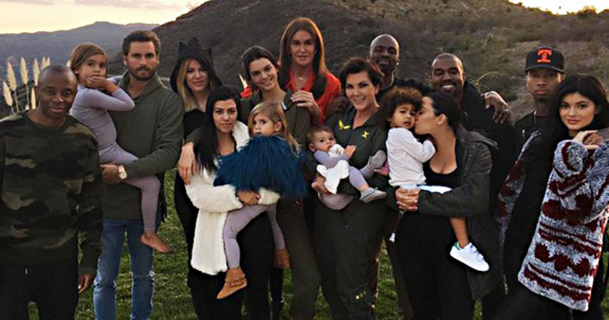 The Kardashian Jenner Thanksgiving Family Photo Scott