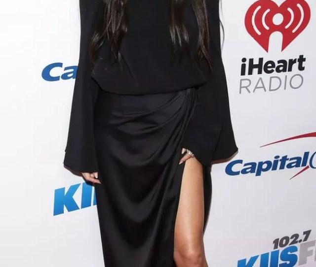 Selena Gomez Arrives At 102 7 Kiis Fms Jingle Ball 2015 Held At Staples Center On December