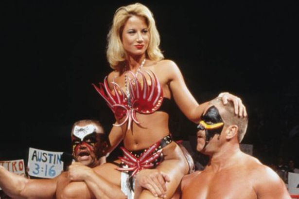 Wwe Diva Sunny As The Manager Of The Legion Of Doom