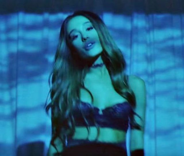 Ariana Grande Slips Into Racy Black Lingerie And Suspenders For Another Clip From Dangerous Woman Mirror Online