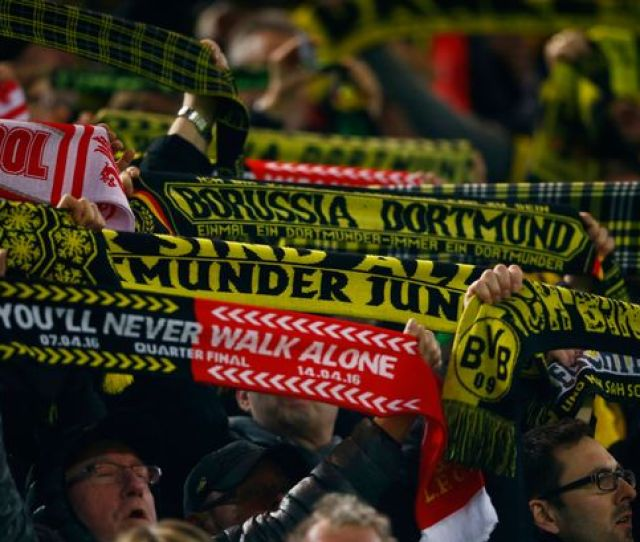 Ok Borussia Dortmund And Liverpool Fans Well Let You Off This Time