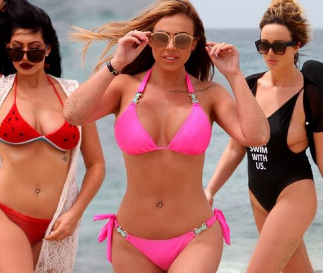 The Girls Flaunted Their Beach Bodies While Enjoying A Holiday To Cape Verde Image Fortitude Press