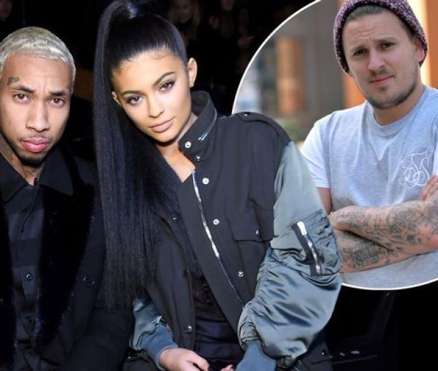 Tyga And Kylie Jenner With Prankster Ty Bracey
