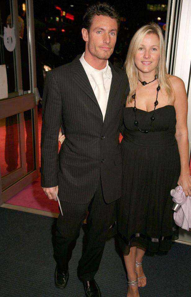 Dean Gaffney and Sarah Burge