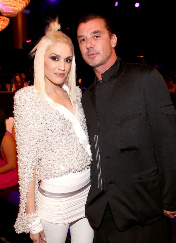 Recording artists Gwen Stefani (L) and Gavin Rossdale attend the People Magazine Awards at the Beverly Hilton Hotel