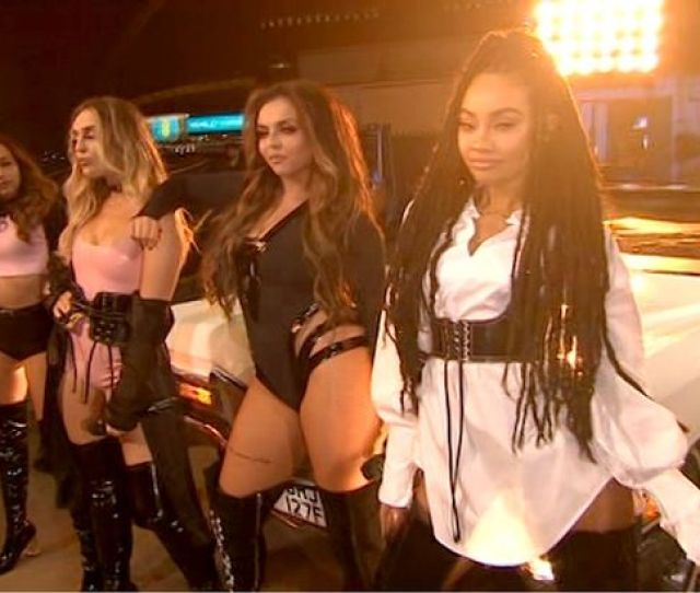 Little Mix Were Not Wearing Much Image Itv