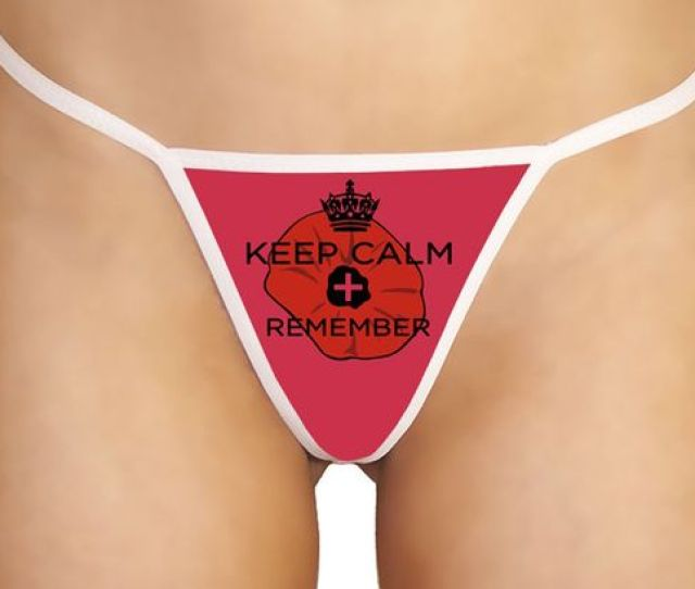 Remembrance Day Thong