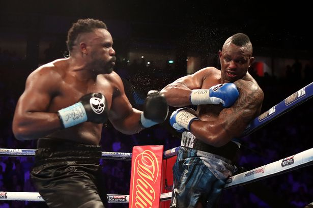 Image result for Dillian Whyte and Dereck Chisora