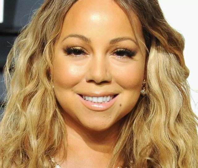 Mariah Carey Suffers Major Fashion Fail With Oscars Red Carpet Nip Slip Mirror Online