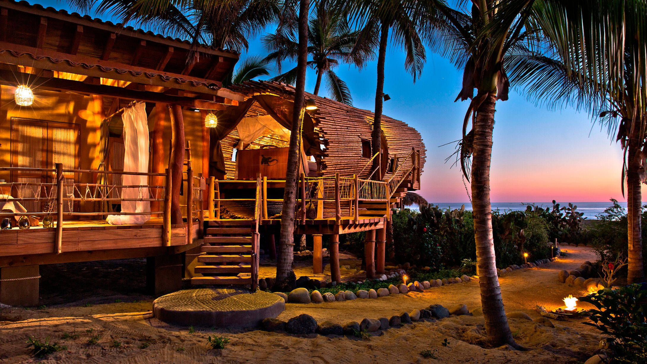 Live Like A Modern Day Swiss Family Robinson In This