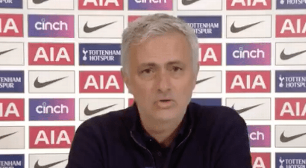 Jose Mourinho was furious with Ole Gunnar Solskjaer in his post-match press conference