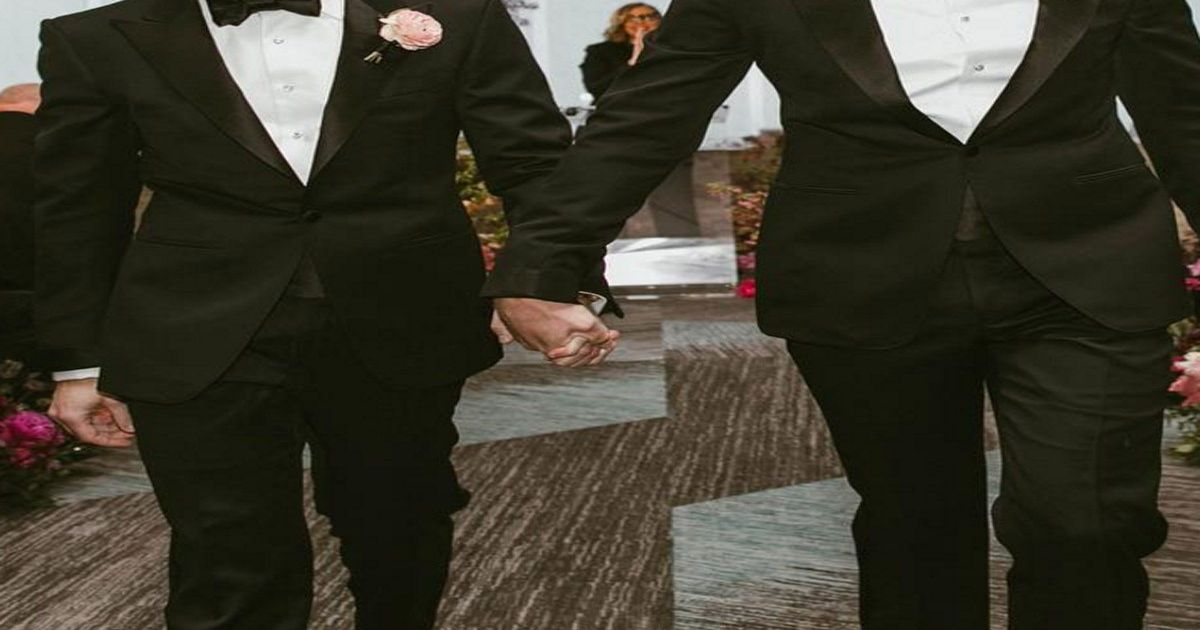 Big Bang Theory Star Jim Parsons Shares Wedding Photos