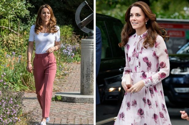 Kate Middleton of All Time Bloomed Pink as She Sets a New Trend