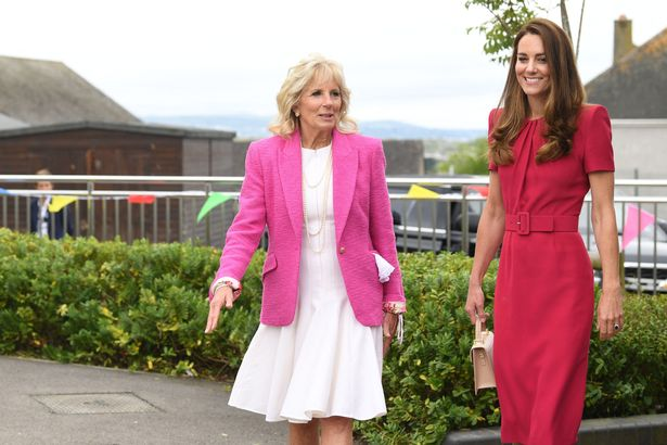 Kate Middleton and Jill Biden first met while attending an elementary school