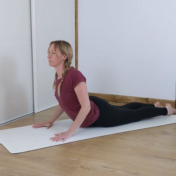 Leah's yoga program is for all abilities and there are plenty of tutorials to teach novice yoga practitioners how to do the movements and find the right alignment