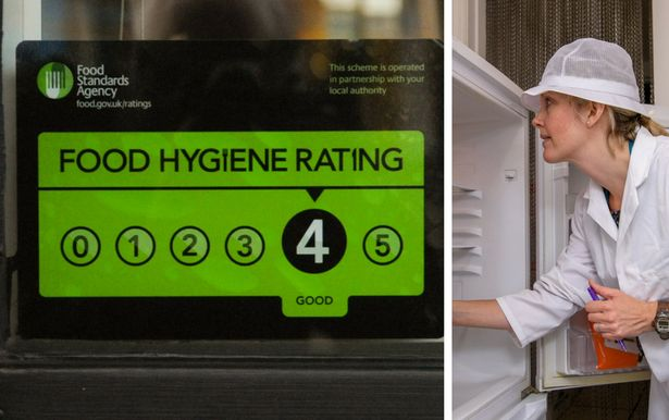 food hygiene ratings for every restaurant cafe and canteen in