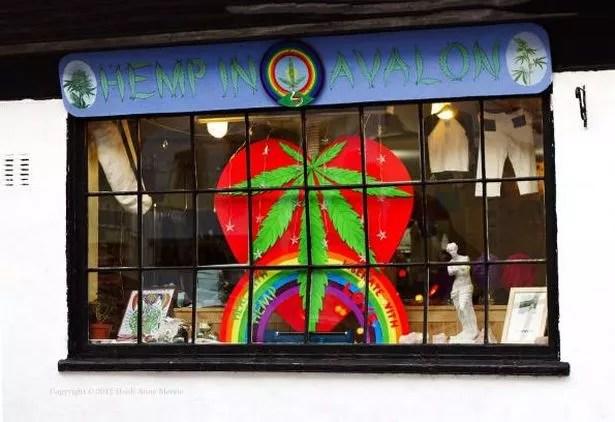 Hemp in Avalon, Market Place, Glastonbury