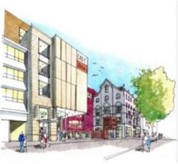 Plans have been revealed for the potential redevelopment of Queen's Arcade in Cardiff city centre
