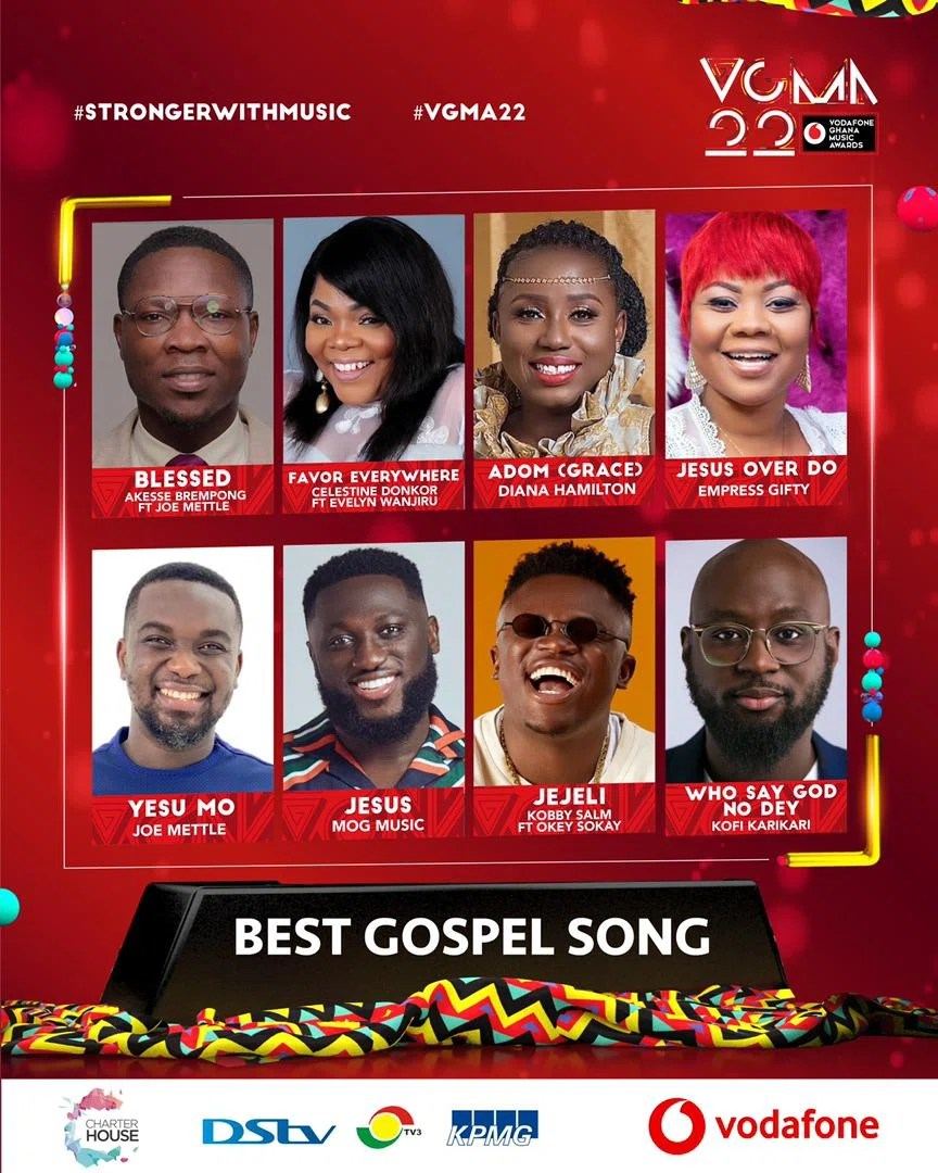 IMG 20210403 WA0007 1 Chartered House Has Released The Nominees List Of The 22nd Edition Of VGMA Awards