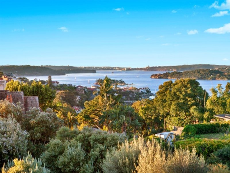 Harbour view from 12 Ginahgulla Road, Bellevue Hill