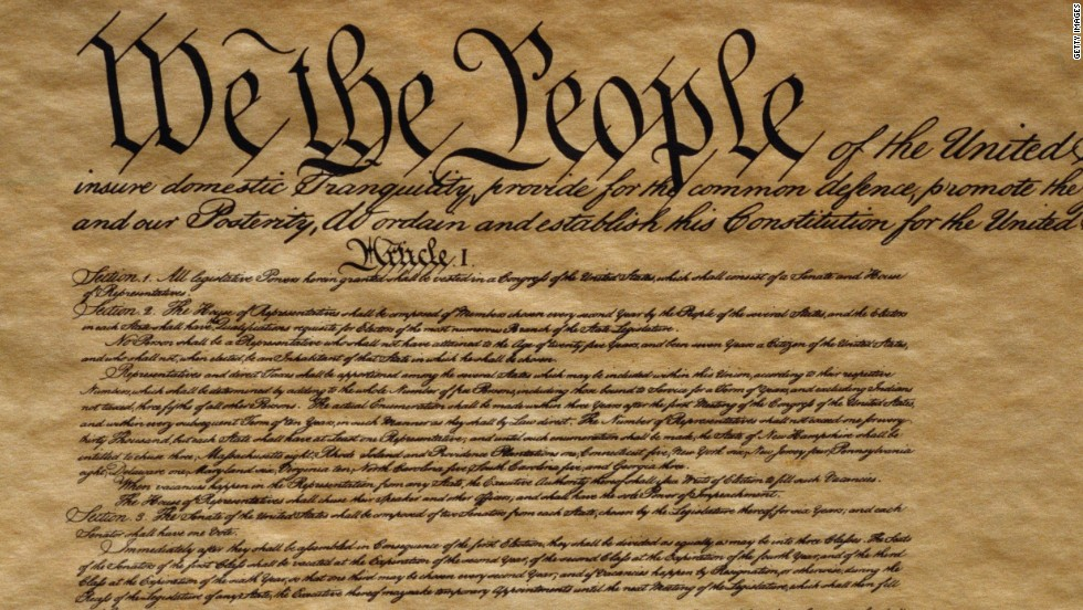 Image result for The US Constitution