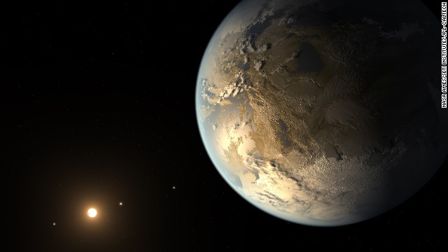 NASA's Kepler Discovers First Earth-Size Planet In The 'Habitable Zone' of Another Star April 17, 2014  The artist's concept depicts Kepler-186f , the first validated Earth-size planet to orbit a distant star in the habitable zone