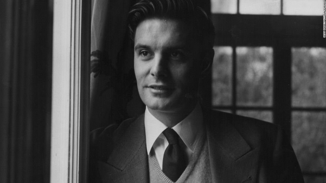 Louis Jourdan about 1950, when he was starting to make waves in Hollywood.