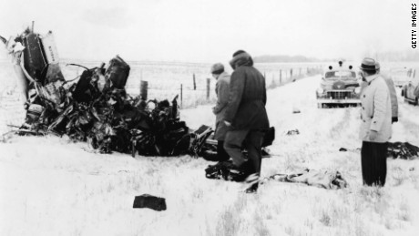 Image result for buddy holly plane crash