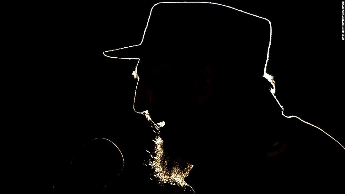 Castro speaks in Havana in February 2006.