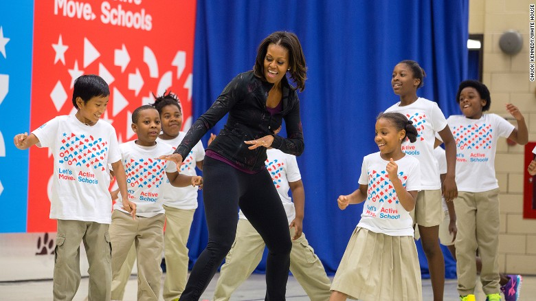 Image result for Michelle Obama's healthy school lunch program in jeopardy?