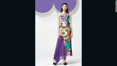 "Christina Lau started <a href=""http://www.chictopia.net/"" target=""_blank"">Chictopia</a>, one of China's most popular local brands, when she was only 24. The quirky prints and bright colors are inspired by Chinese indie designers from the 1990's."