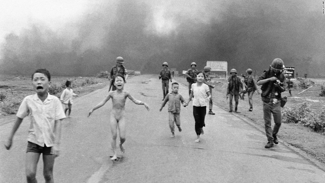 Image result for famous photo of vietnamese girl