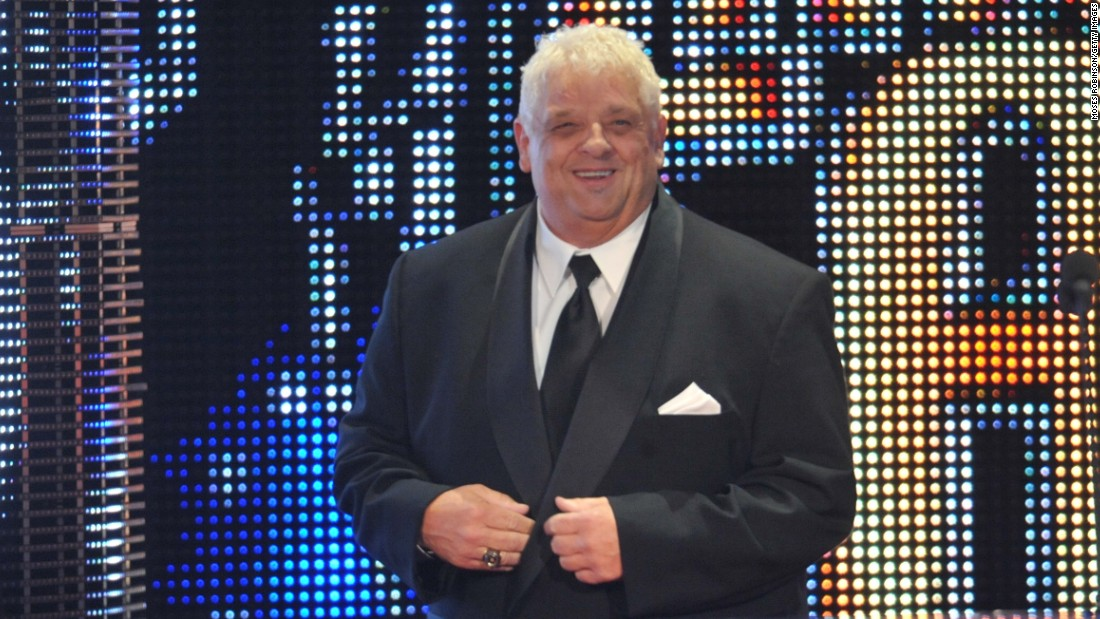ATLANTA, GA - APRIL 03: WWE Hall of Fame member Dusty Rhodes attends the 2011 WWE Hall Of Fame Induction Ceremony at the Philips Arena on April 3, 2011 in Atlanta, Georgia. (Photo by Moses Robinson/Getty Images)