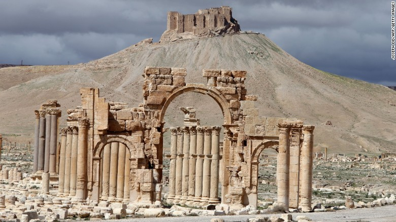 Image result for Ancient Arch of Triumph in Syria's Palmyra