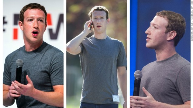 Image result for Mark Zuckerberg Plain Grey T-shirt