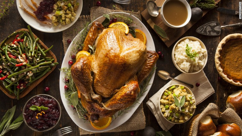 Thanksgiving often means grazing on a table full of turkey, gravy and sides. But to keep them fresh and free from bacteria, make sure to wrap up the leftovers within two hours of serving. And don't worry if they're still warm; it's all OK to go in the fridge. If stored in the fridge, make sure to eat turkey within three to four days. Casseroles and mashed potatoes are good a little bit longer, three to five days. If you need the food to last longer, put it in the freezer. Foods kept in the freezer are good indefinitely, but they tend to lose their flavor over time.  <br />