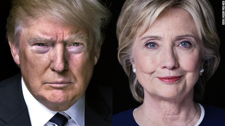 Image result for trump v hillary