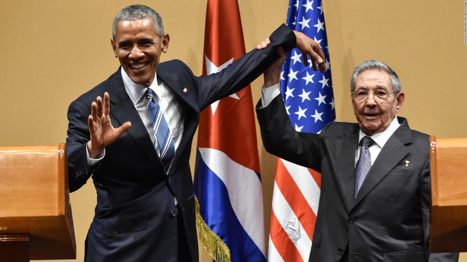 Image result for castro obama images