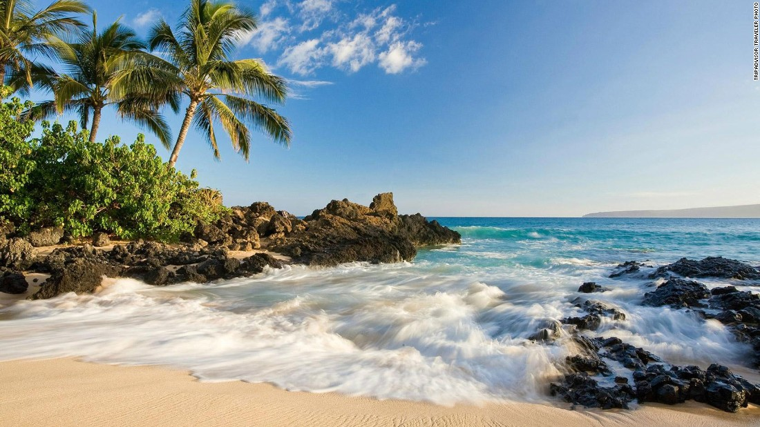 "With more than 80 beautiful beaches and only about 131,000 year-round residents, the 2016 ""best island"" title holder is Maui."